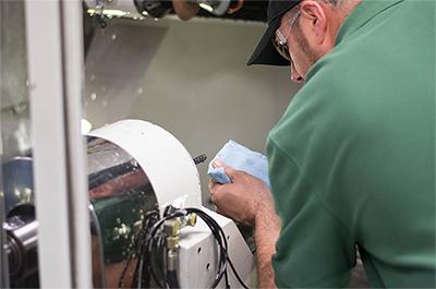 Core Cutter LLC - James inspects